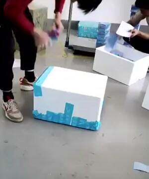 How to pack a box