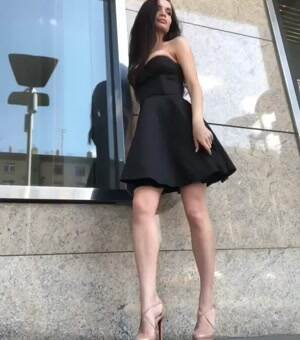 Ekaterina Zueva Little black dress