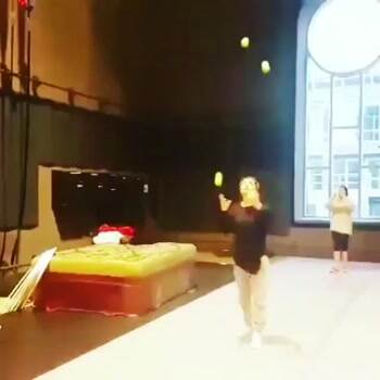 really cool juggling flip trick