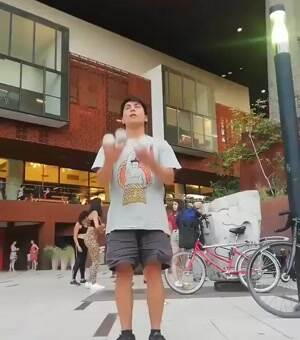 that is some top notch juggling