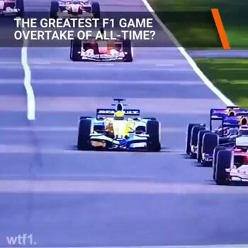 greatest f1 overtake of all time