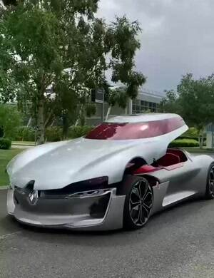 awesome new supercar