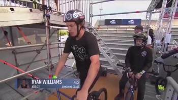 BMX rider Ryan Williams doing the world's first 1080 front flip