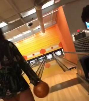 Interesting bowling technique