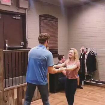 Some awesome dancing