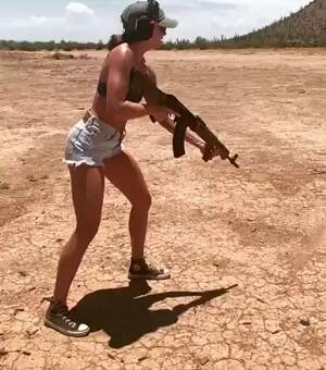 Karly Kennedy Out doing some shooting