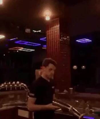 Awesome bar tending tricks