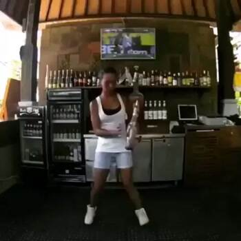 Awesome bar tending