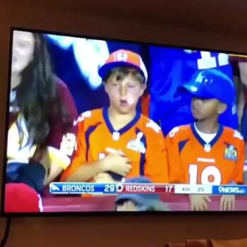 This kids face says it all