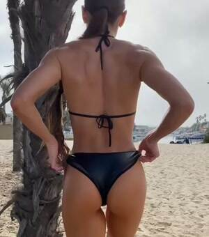 A beach workout