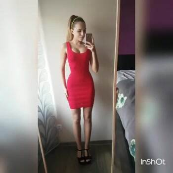 A little red dress