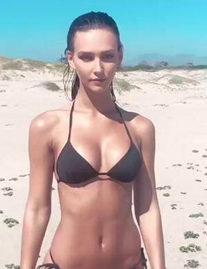 Fit at the beach